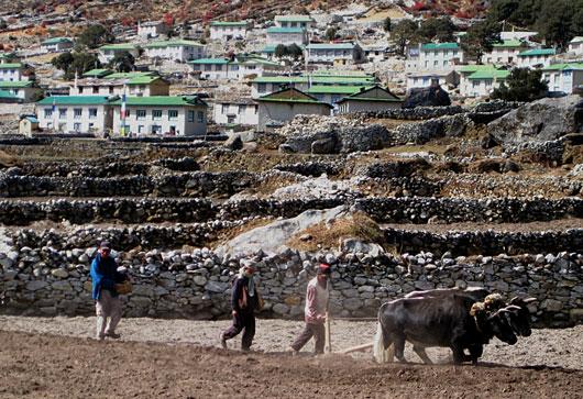 Khumbu village