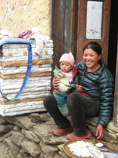 Sherpas have a way of seeing and living life