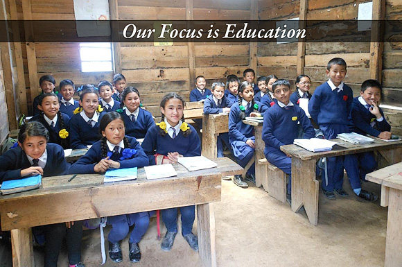 Our Focus is Education